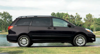 2008 Toyota Sienna XLE AWD, side, exterior, manufacturer