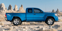 2008 Toyota Tacoma Access Cab 4WD, side, exterior, manufacturer