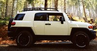2008 Toyota FJ Cruiser, side view, exterior, manufacturer
