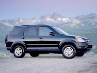 2002 Honda CR-V Overview