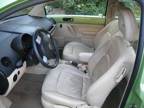 2001 Volkswagen Beetle Interior. Picture of 2001 Volkswagen