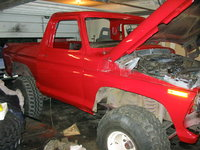 1979 Ford Bronco, My Bronco ´79 being renovated.