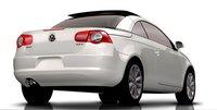 2008 Volkswagen Eos, back, exterior, manufacturer