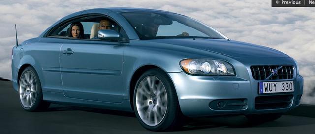 2008 Volvo C70, side, exterior, manufacturer, gallery_worthy