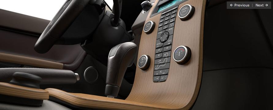 2008 Volvo S40 Interior