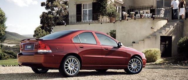 2007 Volvo S60, side, exterior, manufacturer
