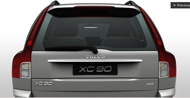 2008 Volvo XC90, back, exterior, manufacturer, gallery_worthy
