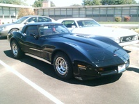 1980 Chevrolet Corvette Base, 1980 Chevrolet Corvette Coupe picture