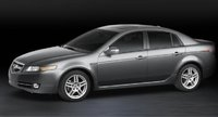 2007 Acura TL, side view, exterior, manufacturer