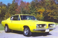 1967 Plymouth Barracuda, 1969 Plymouth Barracuda picture