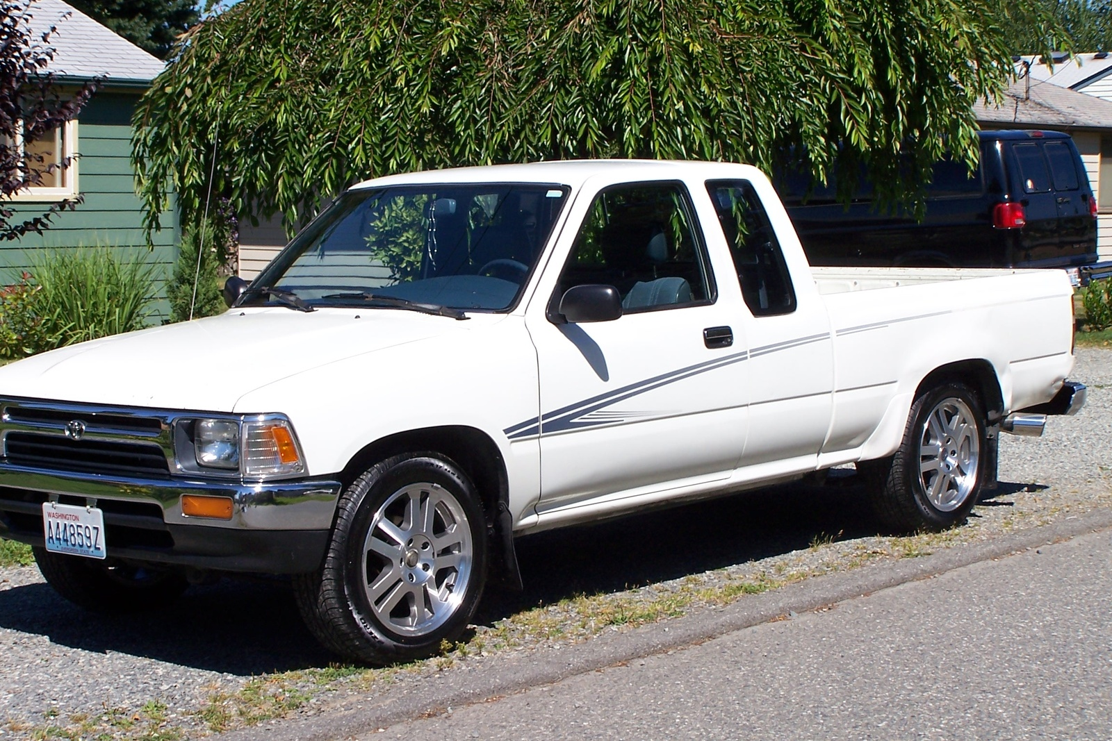 picture of 1992 toyota pickup 2 dr deluxe extended cab sb. Black Bedroom Furniture Sets. Home Design Ideas