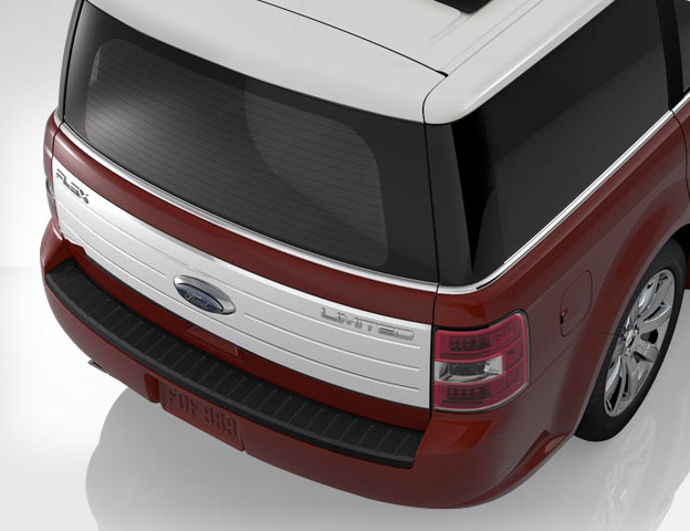 2009 Ford Flex, back, exterior, manufacturer, gallery_worthy