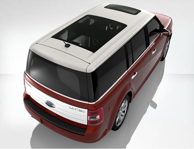 2009 Ford Flex, top, exterior, manufacturer, gallery_worthy