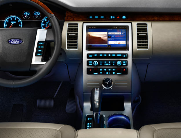 2009 Ford Flex Mood Lighting Interior Manufacturer Gallery Worthy