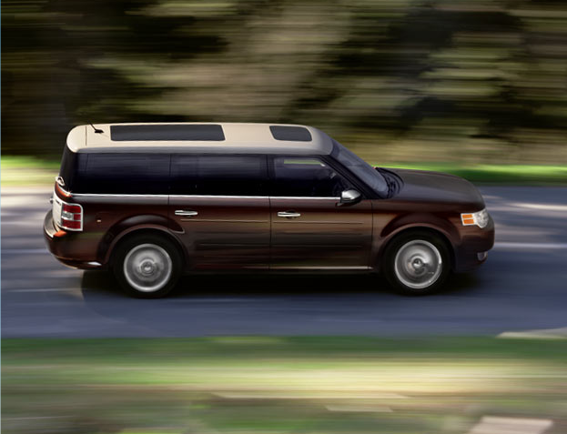 2009 Ford Flex, side, exterior, manufacturer, gallery_worthy