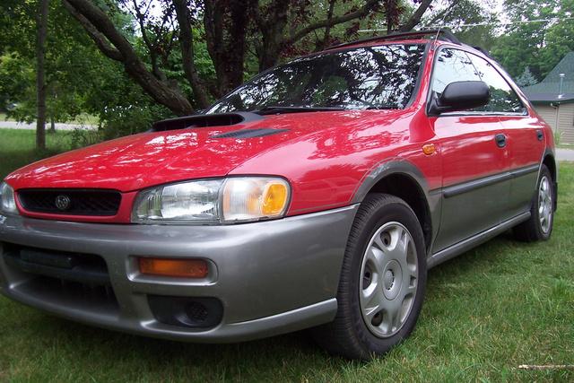 subaru 1997 impreza outback sport cargurus cars awd dr wagon