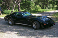 1973 Chevrolet Corvette, Picture of 1975 Chevrolet Corvette Coupe, exterior