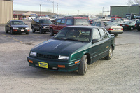 1993 Plymouth Duster, 1993 Plymouth Sundance 4 Dr STD Hatchback picture
