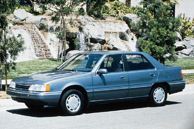 Picture of 1990 Hyundai Sonata V6 FWD