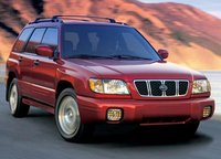 2002 Subaru Forester, front view, exterior
