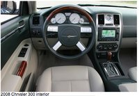 2008 Chrysler 300 SRT-8, driver's seat, interior