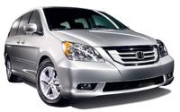 2008 Honda Odyssey EX-L, front, exterior, manufacturer
