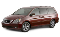 2008 Honda Odyssey, side, exterior, manufacturer