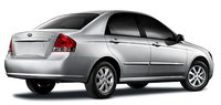 2008 Kia Spectra, back, exterior, manufacturer, gallery_worthy