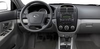 2008 Kia Spectra, front seats, interior, manufacturer