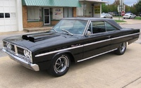 1966 Dodge Coronet, Front-quarter view of a '66 Coronet 440 automatic, exterior