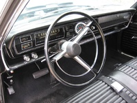 1966 Dodge Coronet, Interior of a '66 Coronet 440 automatic, interior