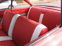 1961 Chevrolet Bel Air, Interior of a 1961 Chevy Bel Air, interior