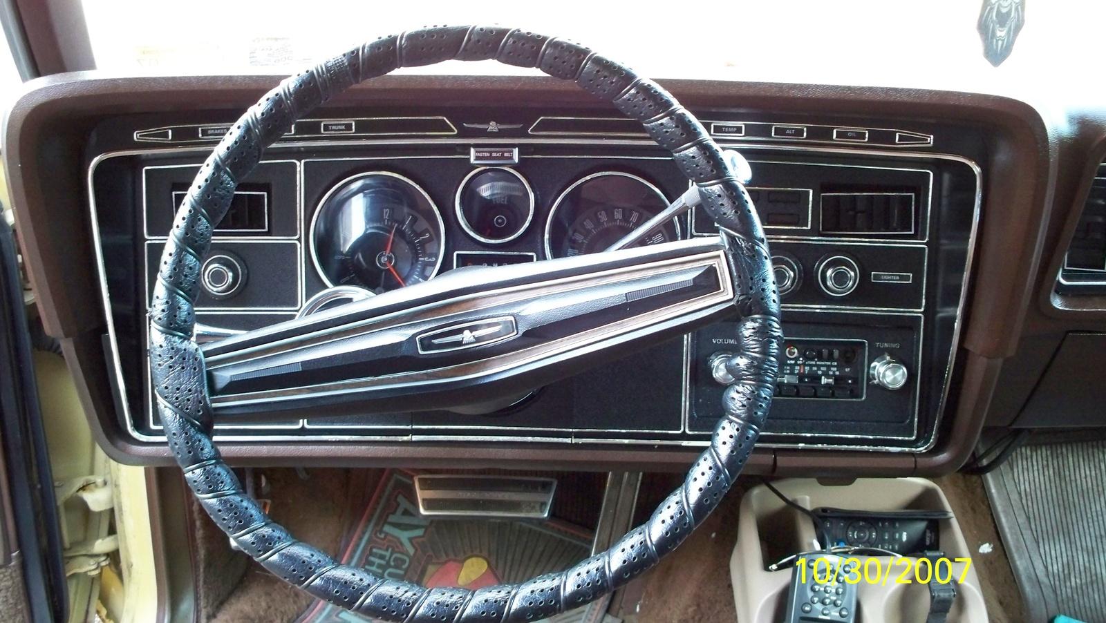 1972 Ford Thunderbird Interior Trim - Automotive Mileposts