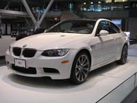 A 2008 BMW M3 Coupe on display at the 2007 New England International Auto Show, exterior