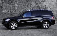 2008 Mercedes-Benz GL-Class GL450, side, exterior, manufacturer