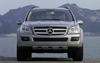 2008 Mercedes-Benz GL-Class GL450, front, exterior, manufacturer