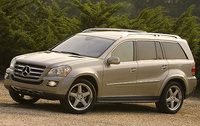 2008 Mercedes-Benz GL-Class GL550, side, manufacturer, exterior
