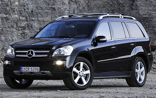 2008 Mercedes-Benz GL-Class, side, manufacturer, exterior