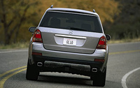2008 Mercedes-Benz GL-Class GL450, back, manufacturer, exterior