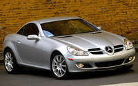 2006 Mercedes-Benz SLK-Class, side, exterior