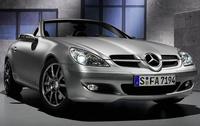 2006 Mercedes-Benz SLK-Class, front, exterior