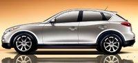 2008 Infiniti EX35, side, exterior, manufacturer