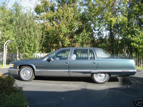picture of 1994 cadillac fleetwood base sedan. Cars Review. Best American Auto & Cars Review
