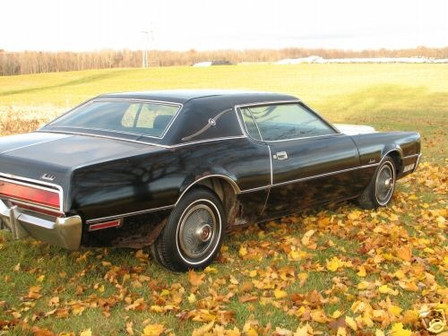 1972 Ford Thunderbird, MY cancer on my new bird., gallery_worthy