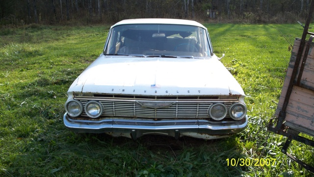 1961 Chevrolet Impala, One for my 61 impala project,my friend drove this car in high school.