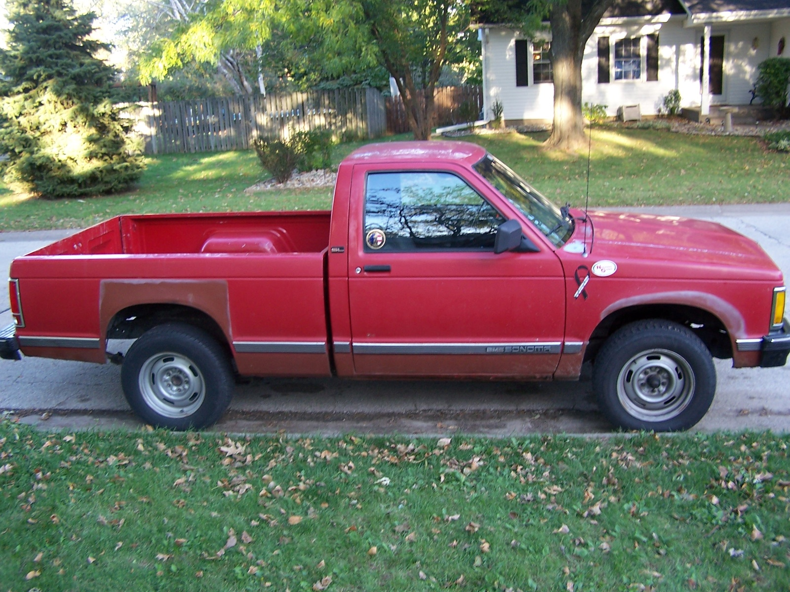 Picture of 1991 gmc sonoma 2 dr sle standard cab sb