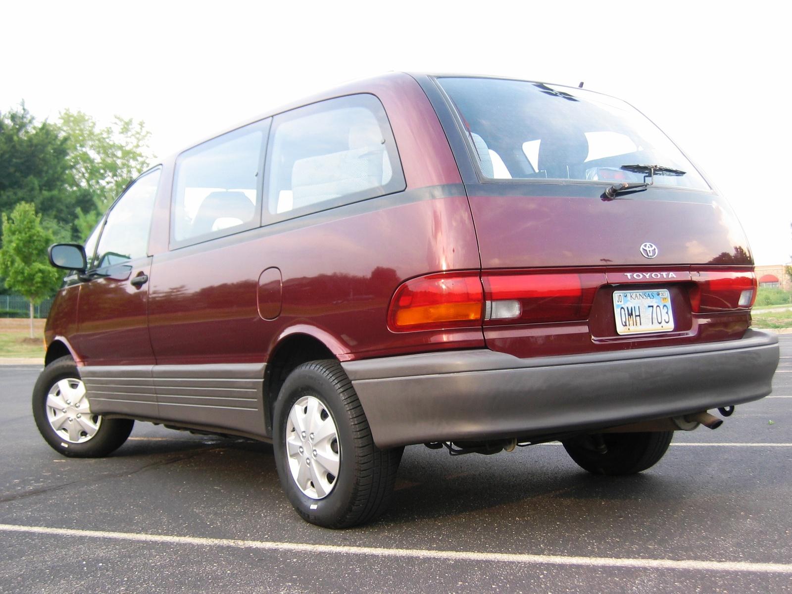 1993 Toyota Previa Fuse Box