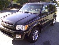 2002 Infiniti QX4, exterior