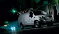 2008 Ford E-Series Cargo, side, manufacturer, exterior
