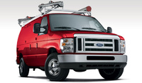 2008 Ford E-Series Cargo, front, exterior, manufacturer